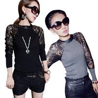 Fashion New Ladies Womens Chiffon Blouse Evening Long Sleeve Casual Shirt Tops