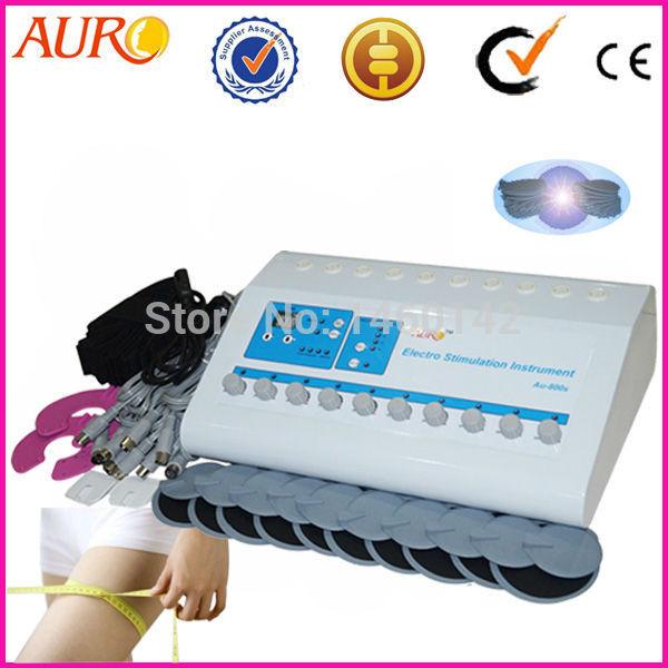 Frete grátis + 100% garantia!!! Melhor profissional 800s estimulação muscular elétrica perda de peso máquina para salão de beleza(China (Mainland))