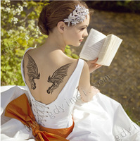 Temporary Tattoos Disposable Tattoo variety of styles body art fashion character personality Pattern Angel Wings body languish