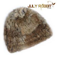 Women's winter warm fur hat female Korean children fur hat caps really cute wool hat cap tide
