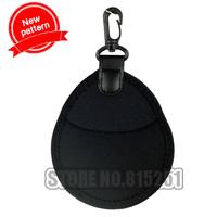 2PCS Camera lens filter bag case for 40.5/43/46/49/52/55/58/62/67mm cpl mc uv  gray filter bag lens thickened shockproof bag