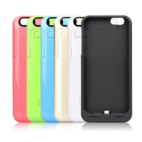 10pcs/lot 2200mAh External Battery Portable Charger Backup Power Bank Case For Apple Iphone 6 4.7'' UPS Free Shipping