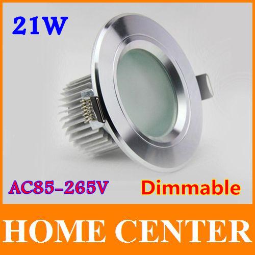 Светодиодный светильник Home center 10pcs/lot Antifogging 21 Epistar downlight ac85/265v other