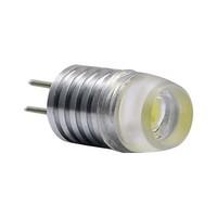 Free shipping ! 1pc 12V G4 Base ed 1.5w  DC 12V G4 led energy saving light Warm white bright  with lens lamp