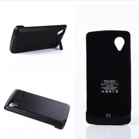 High Quality 3800mAh External Battery Case For Google LG Nexus 5 Power Bank Backup Pack Charger Cover Foldable Supportor UBCN538