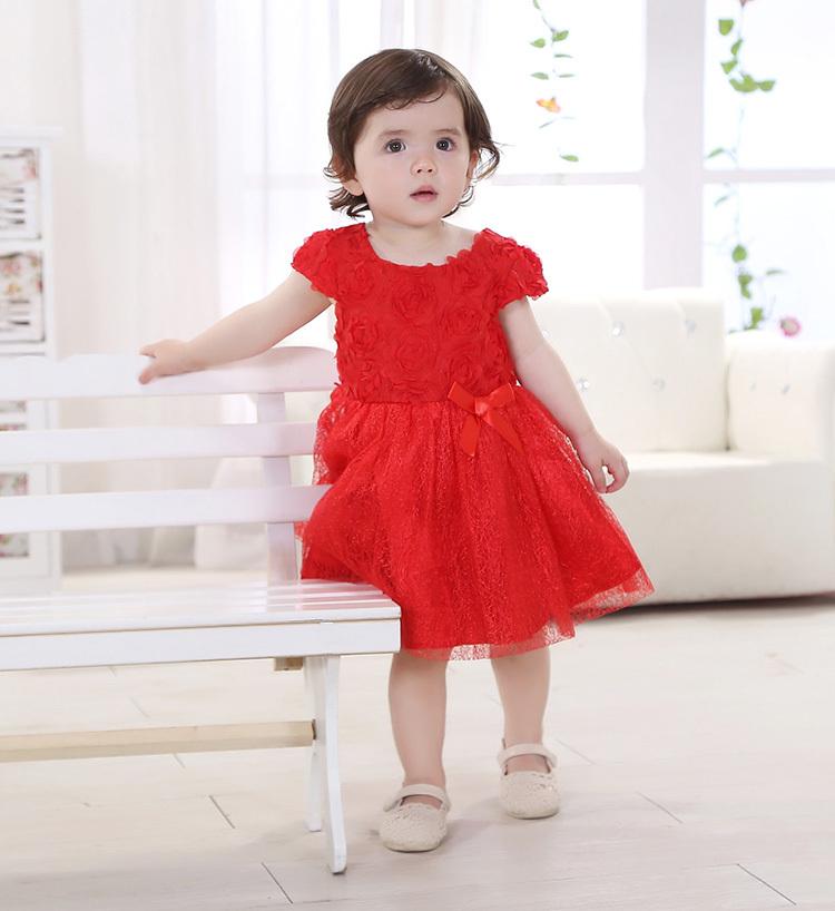 cute red dress girls -#main