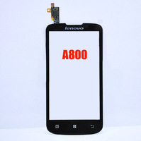Free shipping Original Touch screen Digitizer glass replacement for Lenovo A800