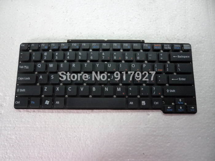 US layout keyboard to compatible model Sony VGN-SR VGN-SR18 VGN-SR45H/N for Sony laptop(China (Mainland))