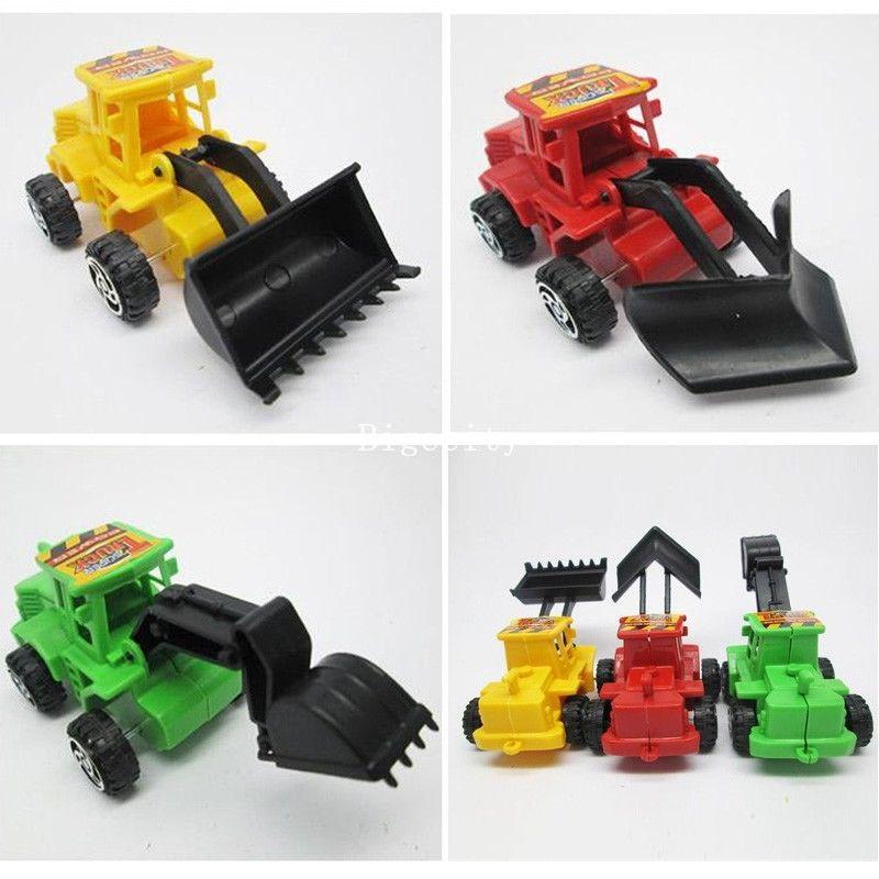 3 Pcs New Kids Boys Toys Construction Trucks Model Plastic Dump Digger Work Lorry Kit Set Brinquedos Meninos Toys for Children(China (Mainland))