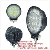 "7.5"" 42W LED Work Light FOR SUV OFF-ROAD UTV STV TRACTOR Driving light, super bright!"