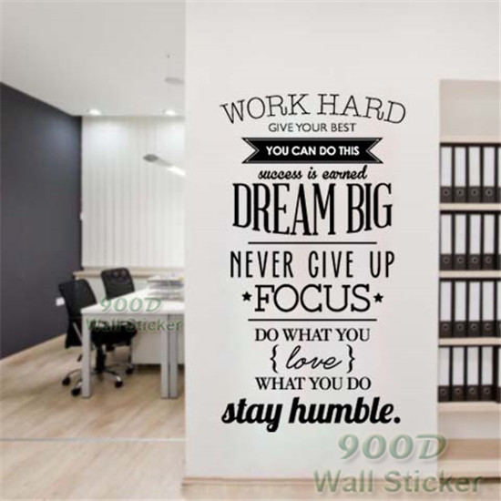 Quote Wall Stickers DIY Home Decoration Wall Art Decor Wall Decal