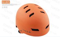 Toker professional BMX trem mountain bicycle bike  helmet,scooters&skating&hip-hop sport helmet.orange calor. Free shipping!