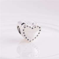 Factory Sales 925 Sterling Silver Screw LW347 Marry Me Heart Ring Box Women Jewelry Charms Thread Beads For European Snake Chain