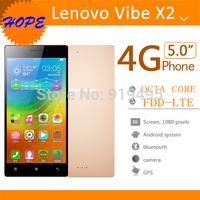 "New Original Lenovo Vibe X2 4G TDD-LTE Smart Phone MTK6595 Octa Core Android 4.4 2GB RAM 32GB ROM 5"" 1920*1080 13MP Camera"