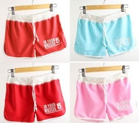 2014 New Fashion Women's Casual Cool Sport Rope Short Pants Jogging Trousers in 11 colors free size