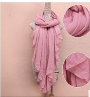ladies 2014 Autumn/Winter cotton and hemp shawls scarves Scarves for women  cape female free shipping  Scarf