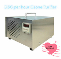 Ozone air purifier,  3500mg per hour ozone Air purifying.  cyclic timer automatic On - OFF repeatly as you like