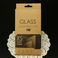 1000pcs retail packaging box/paper box/packing for galaxy s5 s4 iphone5s 6 6 Plus Tempered Glass Screen Protector Film,free DHL
