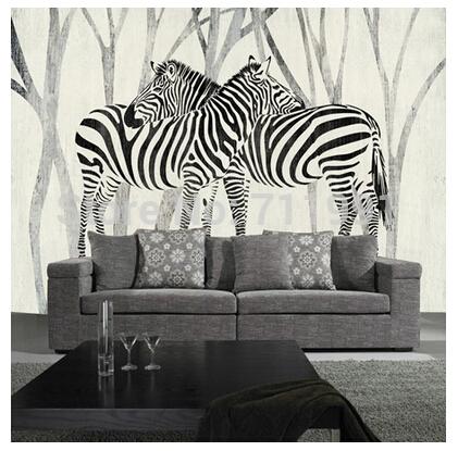 Online kopen wholesale zebraprint wallpaper voor slaapkamers uit china zebraprint wallpaper voor - Behang zebra ...