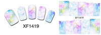 Best Selling 10pcs/Lot more designs water decals DIY nail art stickers for nail decoration
