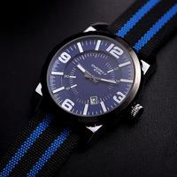 Fashion Sports Designer Men Canvas Watches Original EYKI Casual Quartz Watches Calendar Analog Clock Waterproof Relojes NW1753