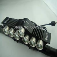 12000Lm 7x CREE XM-L2 LED Head Front Bicycle Lamp bike Light Headlamp