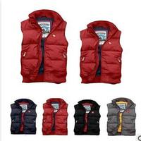 Winter women duck down vest brand vest women casual A..F vest good quality S,M,L,wholesale free shipping