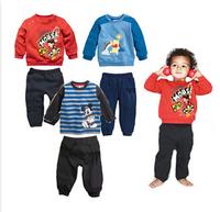 Wholesale 2014 boy mickey cloth wear boy tshirt +pants kids clothing set boy wear 3 colors