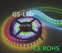 Magic LED Strip light  IC1812 60leds/m 5M SMD5050 DC5V.Epistar General Brightness LED Chip.IP67