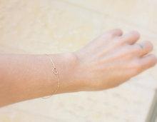 Heart bracelet - Thin Gold Bracelet - dainty bracelet,14k gold filled tiny heart on gold filled chain, gold sister bracelet(China (Mainland))