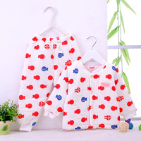 2014 Baby cotton suit newborn padded suits two-piece baby jacket winter thickened infant clothing