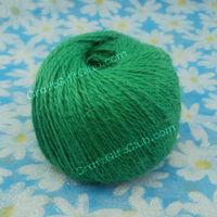 100 Yard Green Hemp Cord twine rope string craft 1.5mm Shoe Decoration DIY