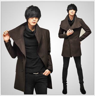 japan men fashion New Arrived Mens Trench