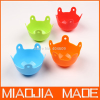 Free shipping  10pcs/ lot new shape Poach Pod Silicone Egg Poacher 100% food-grade