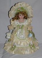 40cm retro porcelain doll simulation ceramic dolls Exquisite fashion, European, Victorian style, porcelain doll simulation doll