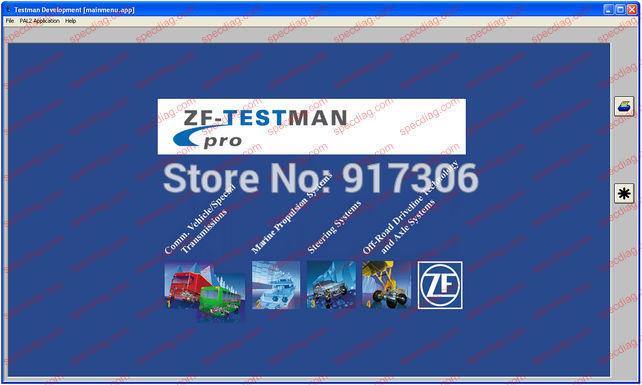 ZF-Testman Pro Development 10.5 [2015](China (Mainland))