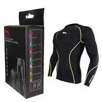 lycra under wear armour compression sports wear for men size s-xl