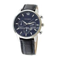 BRAND CAGARNY luxury military men's genuine leather fashion sport light watch atmospheric clock quartz  calendar Wristwatch