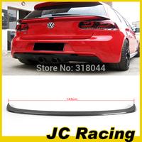 2010-2013 High quality Carbon Fiber Style Middle spoiler, Auto car Spoiler For VW Golf6 Golf VI (Fit MK6 GTI & R20 10-13 )