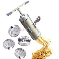 2014 New Stainless Steel Noodle Maker Manual Pasta Tool Machine Maker