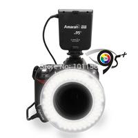 Wholesale 500pcs/lot Aputure HN100 CRI 95+ Amaran Halo LED Ring Flash light  For Nikon Camera DSLRs