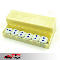 G0453-(minimum order $10) magic props magic toy manufacturers wholesale - super ability of dice (large)