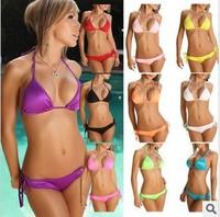 New 2014 Summer Beach Vintage Lace Bikinis Set Women Push Up Swimwear & Swimsuit Bathing Suit vintage bikini neoprene bikini