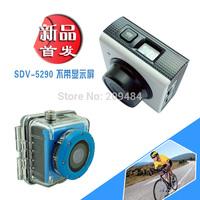 mini 1080P Sport camera HD Waterproof  Video camera  CMOS 5.0MP wide angle lens sport Free shipping