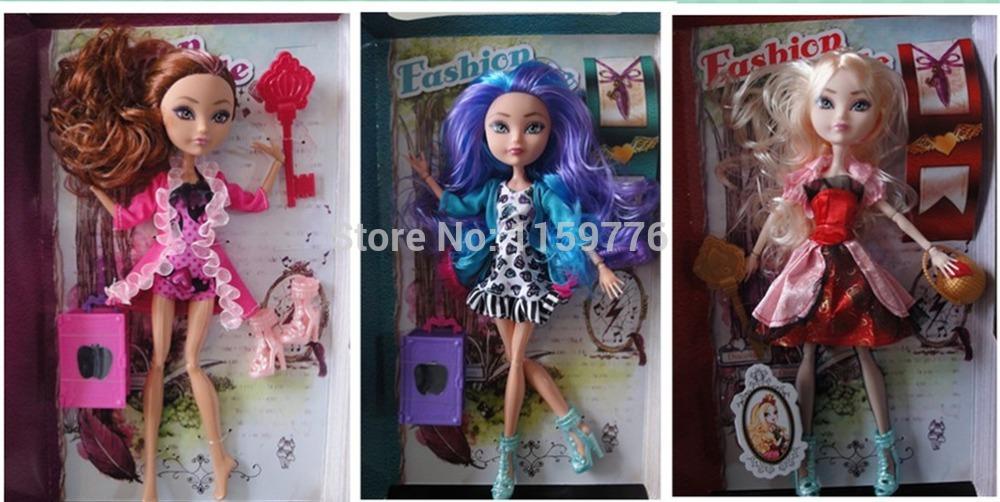 Fairy Tale lycée jamais haute Madeleine chapeau poupée, Sellingr chaude, Le meilleur cadeau de noël pour les filles jouets, Livraison gratuite(China (Mainland))