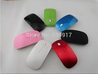 mini wireless mouse  USB Optical Mouse 2.4G Receptor Super Slim mouse computer PC laptop desktop