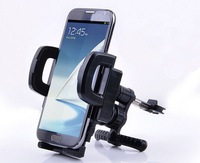 Universal 360 Degree Flexible Holder Car Air Vent Mount Cradle Bracket Stand for iphone 6 Plus Samsung Cell Phone GPS