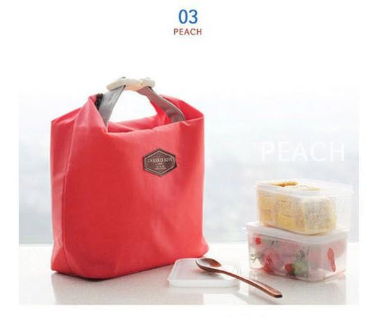 2 pcs thermo isolamento térmico lancheira para mulheres crianças alimentos sacola com zíper caixa do refrigerador do almoço saco de isolamento frete grátis(China (Mainland))