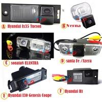 car Rearview Camera for sony CCD Hyundai Santa Fe H1 Elantra I30 IX35 VELOSTER Verna Azera Tuson Genesis COUPE Parking Reversing