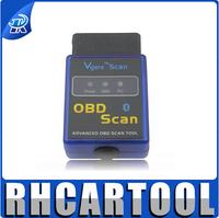 MINI vgate ELM327 Bluetooth OBD2 Scanner/Code Reader v1.5 vgate ELM 327 bluetooth obd 2 Super obd2 v2.1(10pcs\lot)